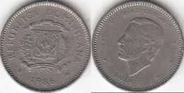 Dominican Republic 10 Centavos 1986 Km#60 - Used - Dominicana