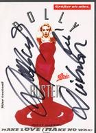 Dolly Buster   Mit Persönlicher  Unterschrift - Autogramme & Autographen
