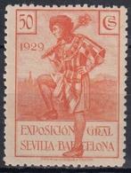 ESPAÑA 1929 Nº 443 NUEVO - Neufs