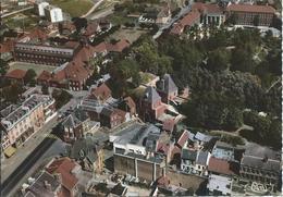 Péronne (80) - Le Lycée Et Porte De Bretagne  - Vue Aérienne - Peronne