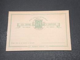 SAINT THOMAS ET PRINCE - Entier Postal Non Circulé - L 17019 - St. Thomas & Prince