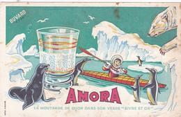 AMORA / LA MOUTARDE DE DIJON DANS SON VERRE - Levensmiddelen