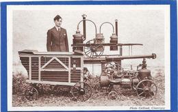 86 BONNES. Léon HAHN Constructeur Derrière Sa Machine - Photo Caillaud à CHAUVIGNY - Autres Communes