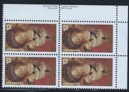 CANADA 1978 SCOTT  773** PLATE BLOCK LR - 1952-.... Reign Of Elizabeth II