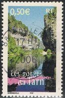"""FRANCE : N° 3704 Oblitéré """"TàD Rond"""" (""""La France à Voir"""" : Les Gorges Du Tarn) - PRIX FIXE - - France"""