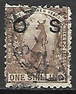 NOUVELLE GALLES DU SUD   -  SERVICE  -   1888.  Y&T N° 26 Oblitéré.   Kangourou - Gebraucht