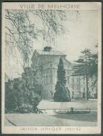 """Programme Saison Lyrique Théatre Municipal Mulhouse Saison 1951-52 Opéra  """"VALSES DE VIENNE"""" - Programs"""