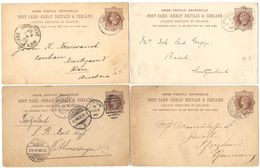 AR141) GRAN BRETAGNA - POST CARD Lot Of Postal Stationery From Great Britain - Interi Postali