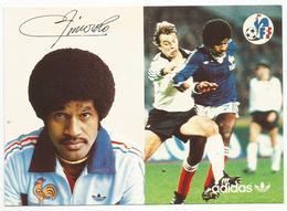 FFF , ADIDAS : EQUIPE DE FRANCE DE FOOTBALL  : ZIMAKO JACQUES - Calcio