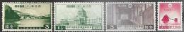 Japan   1936-7   Sc#223, 230-1, 234  MLH*  2016 Scott Value $11.50 - Neufs
