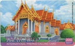 Prepaidcard Thailand - Thaicard - Tempel - Thaïland