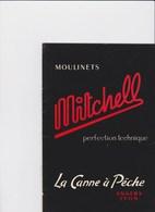 CATALOGUE MITCHELL 1958 MOULINETS - CANNE A PECHE - Publicités