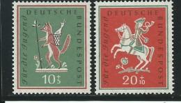 ALLEMAGNE-RFA: **, N° YT 157 Et 158, TB - [7] République Fédérale