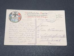 ALLEMAGNE - Wohlfahrts Karte , Marine En 1916 Pour L 'Alsace - L 17033 - Covers & Documents