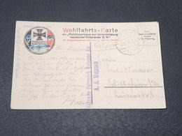 ALLEMAGNE - Wohlfahrts Karte , Marine En 1916 Pour L 'Alsace - L 17034 - Covers & Documents