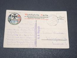 ALLEMAGNE - Wohlfahrts Karte , Marine En 1916 Pour L 'Alsace - L 17035 - Covers & Documents