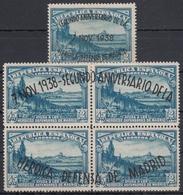 ESPAÑA 1938 Nº 789/90 NUEVO CON CHARNELA - 1931-50 Nuevos & Fijasellos