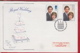 ROYAL WEDDING THE MARRIAGE PRINCE AND PRINCESS CHEARLS DAIANA - Royalties, Royals