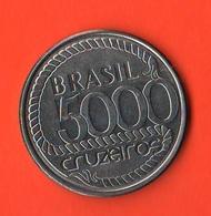 Brasil Brasile 5000 Cruzieros 1992 - Brasil