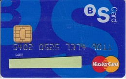 TARJETA DE BANCO DE SABADELL (CREDITCARD-BANK-VISA) CHIP-PUCE - Tarjetas Telefónicas