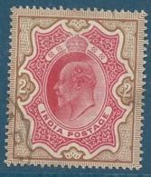 Inde Anglaise    -    Yvert N°   68 Oblitéré          - Bce 14722 - 1902-11 King Edward VII