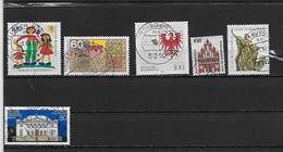 ALLEMAGNE 1450 à 1455 Oblitérés Rond - Gebraucht
