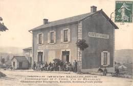 71 - SAONE ET LOIRE / 711760 - Chauffailles - Café De La Gare - Maison Mazallon Moulin - Autres Communes