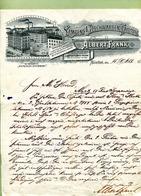"""MÜNCHEN  : """" LAMPEN & BLECHWAAREN-FABRIK  Albert FRANK """"  1894 - Allemagne"""
