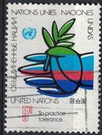 Nations Unies 1979 Oblitéré Used To Practice Tolerance Pratiquer La Tolérance - Oblitérés
