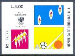 E173- Honduras 1988 Olympic Games Seoul. - Olympic Games