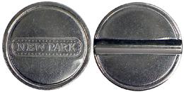 04505 GETTONE JETON TOKEN PARKING (?) MACHINE NEW PARK - Italy