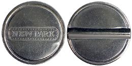 04505 GETTONE JETON TOKEN PARKING (?) MACHINE NEW PARK - Italia