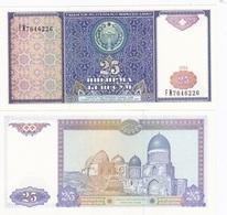 Uzbekistan - 25 Sum 1994 UNC Ukr-OP - Uzbekistan