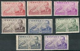 España 0940/947 * Juan De La Cierva. D 10. 1941. Charnela - 1931-50 Nuovi