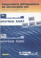 """2005 Italia, Folder  """" Sommergibile Toti  """" Al Prezzo Di Copertina - 6. 1946-.. Republic"""