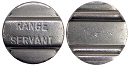 04329 GETTONE JETON TOKEN SWEDEN SPORT EQUIPMENT RANGE SERVANT - Fichas Y Medallas