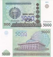 Uzbekistan - 5000 Sum 2013 UNC Ukr-OP - Uzbekistan