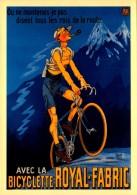 Publicité  - Cycles Bicyclette - Royal Fabric - R/V  - Repro - SC73-3 - Publicité