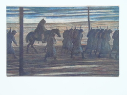 Prima Guerra Pubblicitaria Pubblicita Militare Cechi Legione 1918 PAMATNIK ODBOJE France Gutfreund 305 - Italia