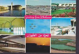 Saudi Arabia PPC Greetings From Dhaharan (2 Scans) - Saudi-Arabien