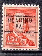USA Precancel Vorausentwertung Preo, Locals Pennsylvania, Reading 729 - Vereinigte Staaten