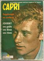 ROMAN PHOTOS  LE FEU SACRE   Couverture Et Article Sur JOHNNY HALLYDAY    N° 71   Année 1960 - Romantique