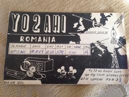 Romania Amateur Radio Station Card   1969 - Rumania