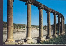 Jordan PPC The Forum Of Jerash Holy Views 178 (2 Scans) - Jordanien