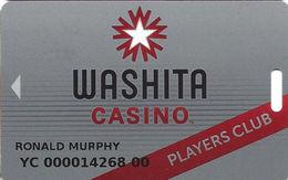 Washita Casino - Paoli, OK - Slot Card - Casino Cards