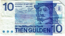 De Nederlansche Bank. Tien Gulden. 10 Gulden. 25 April 1968. - [2] 1815-… : Royaume Des Pays-Bas