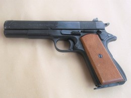 Colt 1911 Government Us Army 2gm Replica Vintage A Salve Umarex Eccellente - Armi Da Collezione