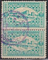 Kingdom Of Yugoslavia - Dunavska Banovina - 2 Revenue Stamps, Used - Gebraucht