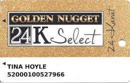 Golden Nugget Casinos - Multiple Locations - Slot Card With C-1054O & Www.plicards.com Over Mag Stripe - Casinokarten