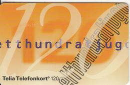 SWEDEN(chip) - Definitive Card 120 Units, CN : 800006900, 12/93, Used - Sweden